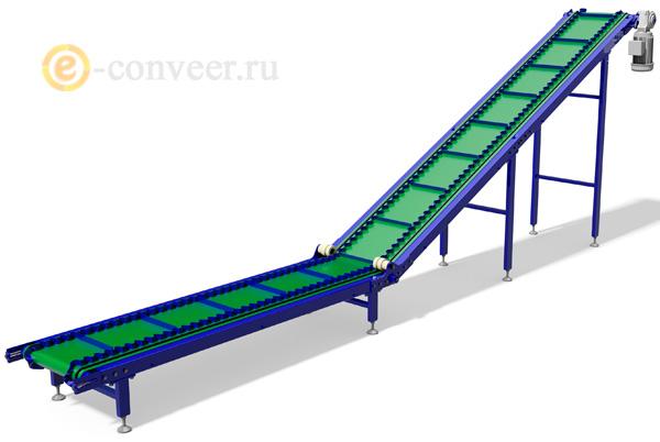 Z образные ленточные конвейеры ленточный транспортер для полимеров