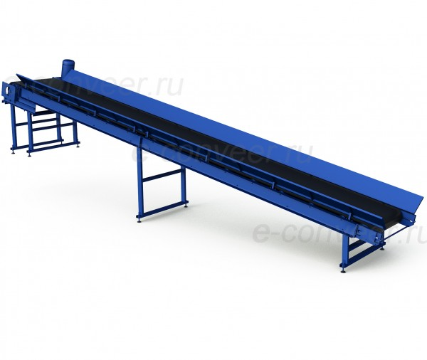 Конвейер ленточный для грузов бакет элеватор