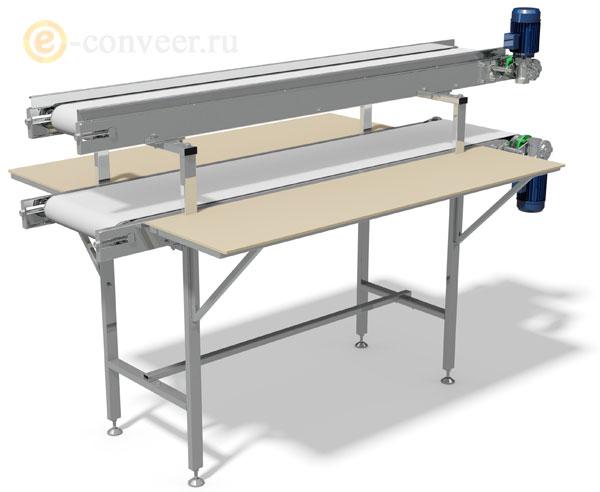 ленточный конвейер для столовой